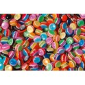 PERLES RONDES LUNE POT DE 100GR COULEURS ASSORTIES