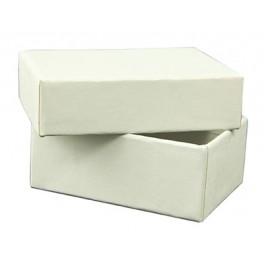 BOITE CARTON BLANCHE petit modèle 6,5x5x3cm