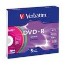 DVD-R 16x pack de 5