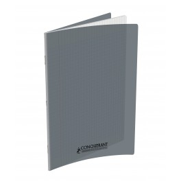 CAHIER 24X32 96P POLYPRO GRIS 90G SEYES