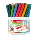 BARIL 48 FEUTRES COLORITONE EXTRA LARGE POINTE 5MM SUPERLAVABLE