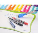 MARQUEURS TABLEAU BLANC V BOARD MASTER S RECHARGEABLE BEGREEN EXTRA FIN ROUGE