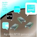 AGRAFES N°10 - BOÎTE DE 5000