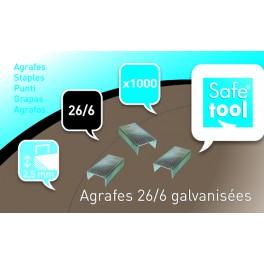 AGRAFES 26/6 - BOÎTE DE 1000