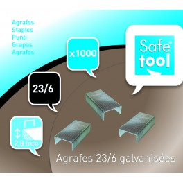 AGRAFES 23/6 - BOÎTE DE 1000