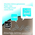 ATTACHE LETTRES 30MM BTE 1000