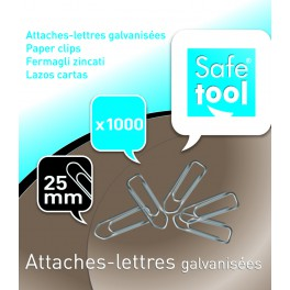 ATTACHE LETTRES 25MM BTE 1000