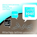 ATTACHE LETTRES 32MM BTE 1000