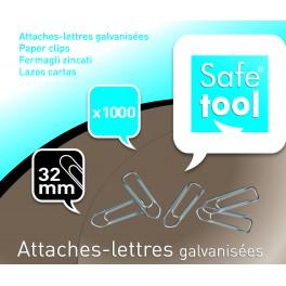 ATTACHE LETTRES 32MM BTE 1000