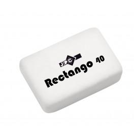 """GOMME SANS PVC """"RECTANGO 40"""" BOITE DE 40"""