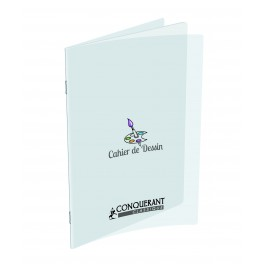 CAHIER DESSIN 24X32 POLYPRO 120G 48P UNI CANSON