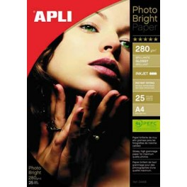 BTE 25 FS PAPIER PHOTO 280G A4 BRILLANT