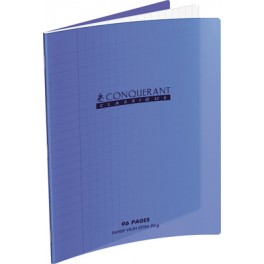 CAHIER 24X32 96P POLYPRO VIOLET 90G SEYES