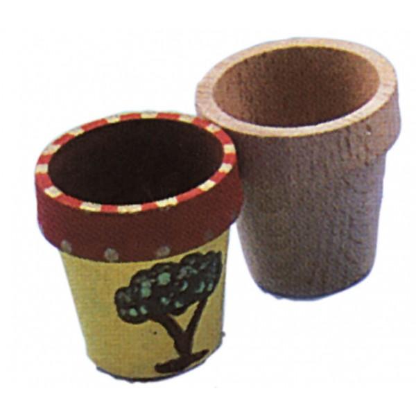 Pot de fleur bois diam60 h60 - Pot fleur bois ...