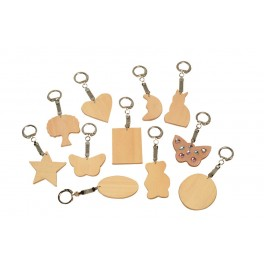 PORTE CLES (MEDIUM) LOT DE 10 ASSORTIS