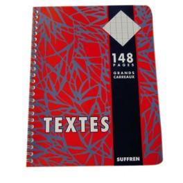 CAHIER DE TEXTES 17X22 INTEGRALE 148P SEYES 56NF