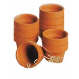 POTS EN ARGILE MINI Ø 4,5cm lot de 10