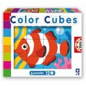 PUZZLES COLOR CUBES - LES FONDS MARINS
