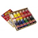 SPOTY APPLICATEURS GOUACHE 70ML BTE 12 ASSORTIS