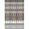 594 GOMMETTES YEUX ASSORTIES