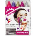 LOT 5 CRAYONS MAQUILLAGE PAILLETES