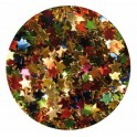 POT 130GR PAILLETTES SEQUINS ETOILES COULEURS ASSORTIES