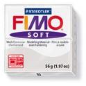 PATE A CUIRE FIMO SOFT PAIN DE 57GR GRIS