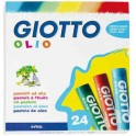 PASTELS A L'HUILE GIOTTO Ø10MM ETUI 24 ASSORTIS