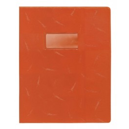 PROTEGE-CAHIER 24X32 OPAQ SUP ORANGE 22/00É