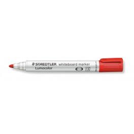 MARQUEUR LUMOCOLOR WHITEBOARD Pointe ogive 2mm rouge