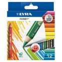 CRAYONS COULEUR FERBY VERNIS ETUI 12 ASSORTIS