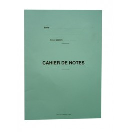 REGISTRE DE NOTES 40 ELEVES