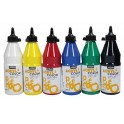 ACRYLCOLOR FLACON 500ML NOIR