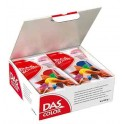 PATE DAS JUNIOR SCHOOLPACK 10 PAINS 100GR ASSORTIS