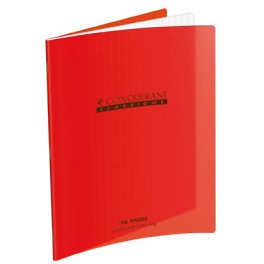 CAHIER POLYPRO ROUGE 90G 48 PAGES SÉYÈS 24X32