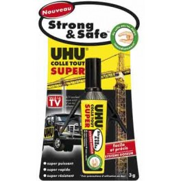 COLLE TOUT SUPER UHU TUBE 3G STRONG & SAFE