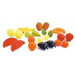 LOT DE 24 FRUITS