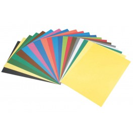 CARTOLINE 50X65 130G PAQUET DE 50 FEUILLES ASSORTIES