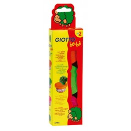 GIOTTO BE-BE PATE A JOUER 3 POTS 100G -BLEU, ROUGE, JAUNE