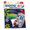 ETUI 12 FEUTRES DECOR TEXTIL GIOTTO ASSORTIS