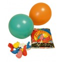 BALLONS BAUDRUCHE 25CM - 100 COULEURS ASSORTIES