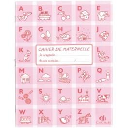 CAHIER MATERNELLE 32 PAGES DL 18mm + UNI 17X22