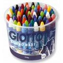 CRAYONS CIRE GIOTTO MAXI Ø 11MM POT 60 ASSORTIS
