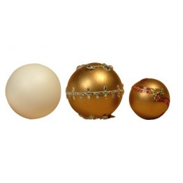 BOULES STYROPOR Ø 100 MM LOT DE 5