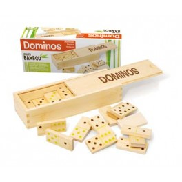 DOMINOS COFFRET BAMBOU