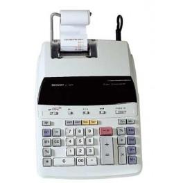 CALCULATRICE SHARP imprimante secteur 12 chiffres EL-1607 PE