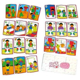 "JEU ""HYGIENE"""" 24 cartes dim 11,5x8cm"