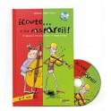 ÉCOUTE … C EST PAS PAREIL ! 6/7 ANS - LIVRE-CD