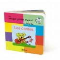 LES CORDES - LIVRE CD – MON IMAGIER-PHOTOS MUSICAL