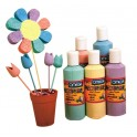 GOUACHE PASTEL 5X250ML ASSORTIES